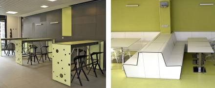 Kompaktní desky – materiály na bázi papíru do interiéru i pro venkovní využití