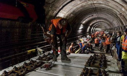 Výměna pražců o Velikonocích zastaví část metra C, pojedou autobusy