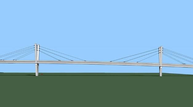 V Chebu se už chystá stavba nové lávky, lidé se po ní projdou za dva roky
