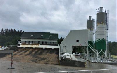 Českomoravský beton míchá od května i na nové betonárně v Hlinsku