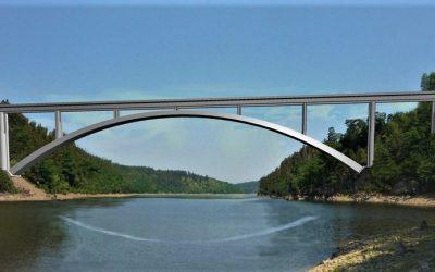 Orlík překlene železniční most za 470 milionů. Starý i přes odpor rozeberou