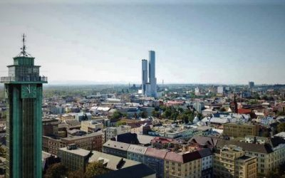 Ostrava prodala pozemky pro nejvyšší mrakodrap v zemi. Bude mít 60 pater