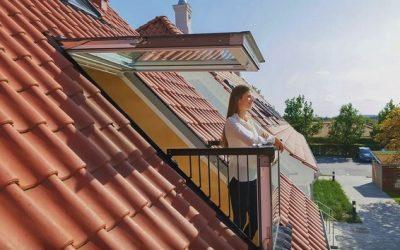 Interiér v podkroví spolehlivě prosvětlí střešní okna