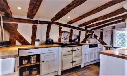 Bydlení ve stylu staré Anglie evokuje to pravé teplo domova