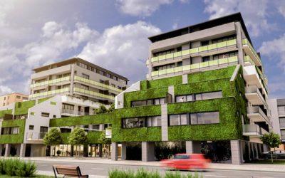 Českobudějovická rezidence novým městským zeleným ostrovem?