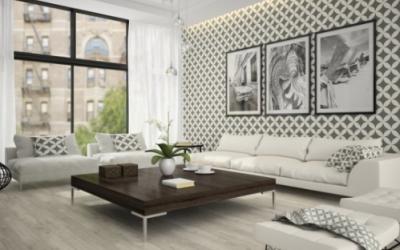 Omrzí-li vás bílé stěny, vyzkoušejte malířské dekorativní techniky