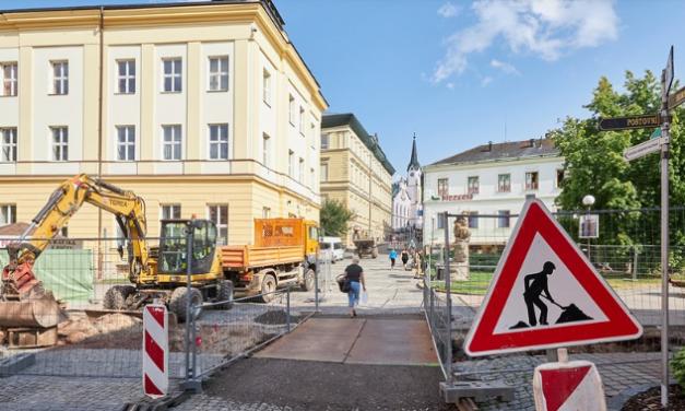 Trutnov opraví další tři náměstí, přibude náhon i pomník Hraničářů