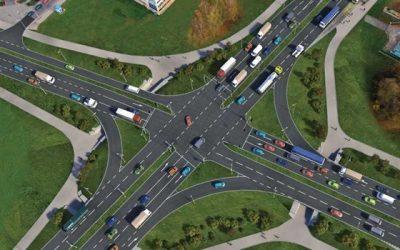 Hradecká křižovatka Mileta by se mohla začít stavět koncem roku 2022