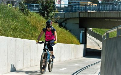 Projet na kole Zlínem je bezpečnější, pomohly nové podjezdy i úpravy ulic