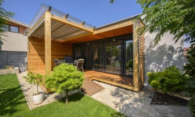 Vhodný výběr stavebního materiálu umožnil a usnadnil stavbu bungalovu svépomocí
