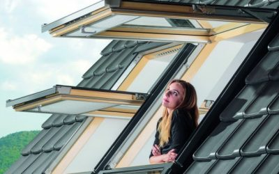 Otevřeno prostoru: výklopně-kyvné střešní okno FPP-V preSelect MAX