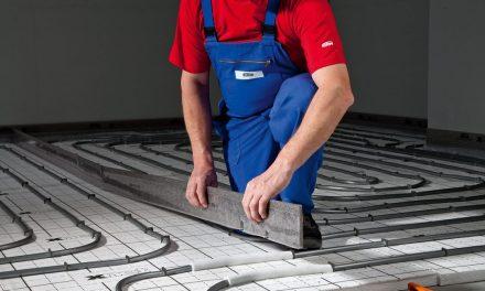 Podlahové vytápění: úsporné řešení se silnou přilnavostí