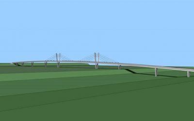 Začala očekávaná stavba lávky na Švédský vrch, překlene chebské nádraží