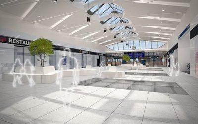 Hlavní nádraží v Plzni čeká obří rekonstrukce, hala získá eskalátory