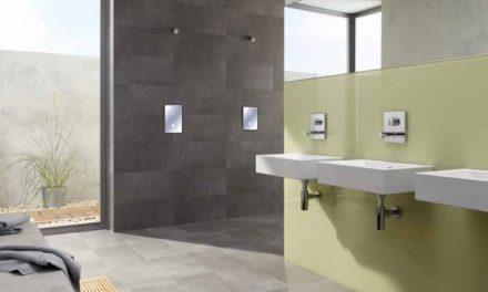 Sprchové armatury Schell Linus přináší spolehlivé řešení pro veřejné sanitární prostory