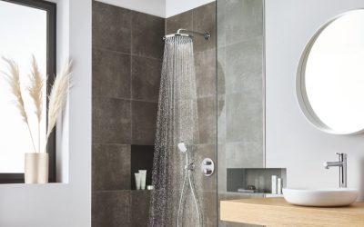 Teplý letní déšť i v zimě – nová hlavová sprcha GROHE Tempesta 250