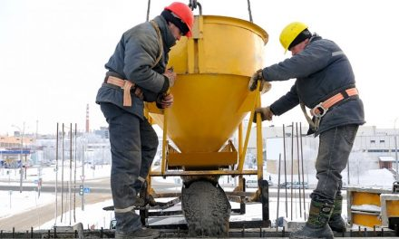 Betonování v zimě: kdy ano a kdy ne