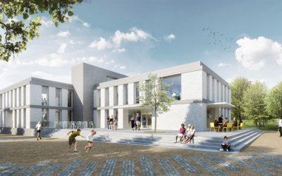 Bývalá výrobna knedlíků vyhořela, teď z ní bude moderní knihovna