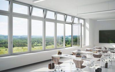 Schüco nabízí systémy pro větrání i se zavřenými okny