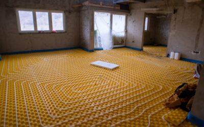 Instalujeme podlahové vytápění