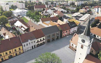 Velešín bude mít na náměstí nový spolkový dům pro koncerty i jógu