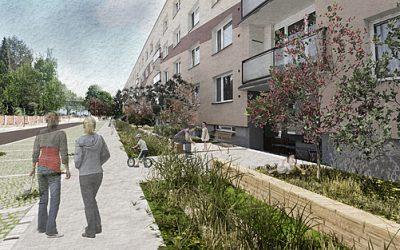 Architekti vpustili přírodu na sídliště v Polici, návrh garáží lidi leká
