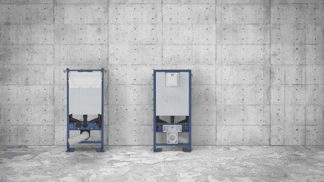 Novinky GROHE: podomítkový instalační rám a nová splachovací tlačítka
