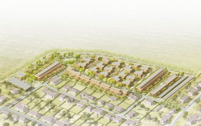 Vítězný architektonický návrh čtvrti Chytré Líchy