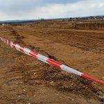 V Chýnově na Táborsku po dvou měsících opět začali stavět obchvat