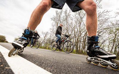 U Rozkoše otevřou cyklistům dva kilometry stezky, okruh je v nedohlednu
