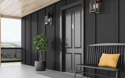 Vchodové dveře musí chránit i hezky vypadat
