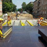 Stavba mostu v Litvínově je napřed, firmu ale trápí zloději a arogance