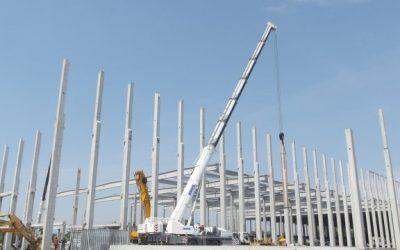 Probíhá výstavba logistického areálu v Ostravě – Hrušově