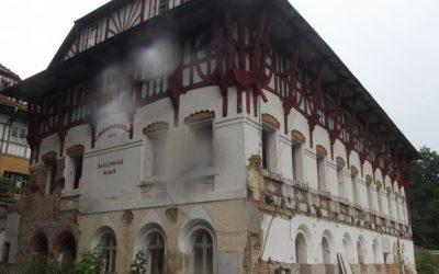 Areál luhačovického Vodoléčebného ústavu v rekonstrukci