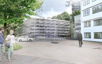 Cena za parkování pro úředníky roste, dům bude stát přes čtvrt miliardy