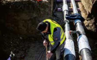 Difuzní bariéra v předizolovaném ocelovém potrubí