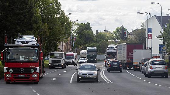 Kraj chce druhou část obchvatu Litoměřic, odvedl by dopravu z centra