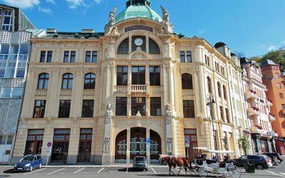 Budovu bývalé Sparkasse ve Varech koupila za 100 milionů česká společnost